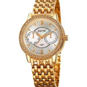 Like New - August Steiner diamond accented watch